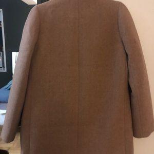 J crew camel color coat